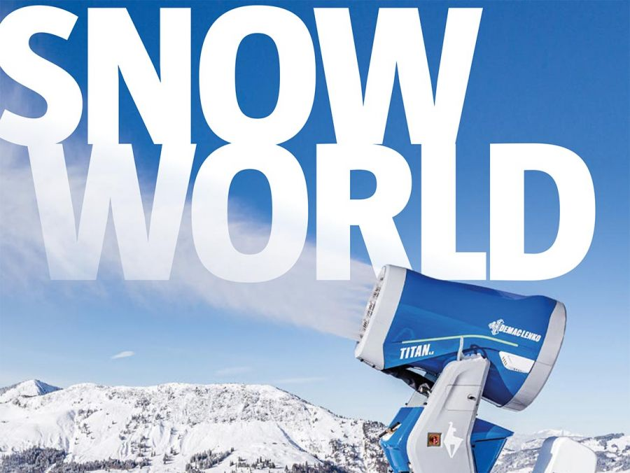 """DemacLenko: 10. Ausgabe """"Snow World"""" - Das Magazin für Schneeprofis"""
