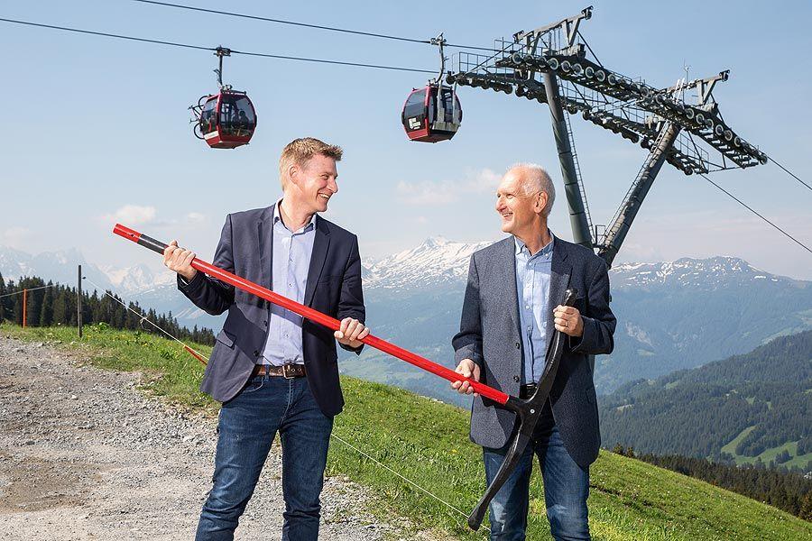 Stabsübergabe bei der Lenzerheide Bergbahnen AG