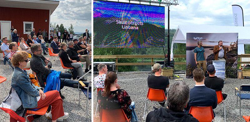 MND: Eröffnung der 4 Jahreszeiten Seilbahn von Skulerberget