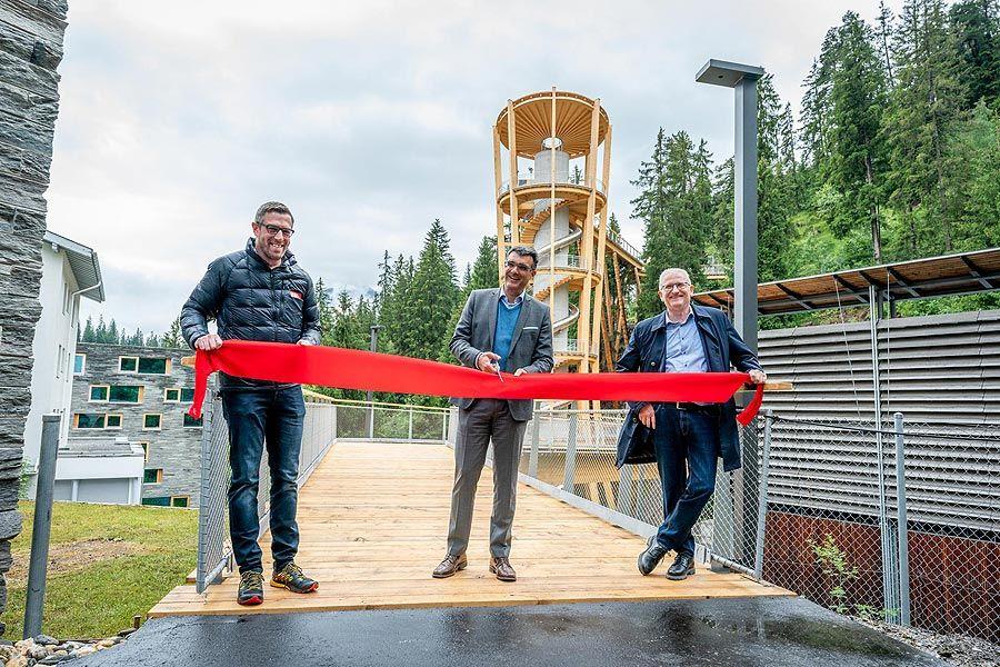 Weisse Arena Gruppe: Längster Baumwipfelpfad der Welt eröffnet