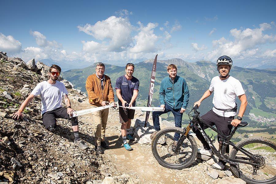 """Bike Kingdom Lenzerheide mit Trail-Zuwachs: """"The Great White"""" ist eröffnet!"""