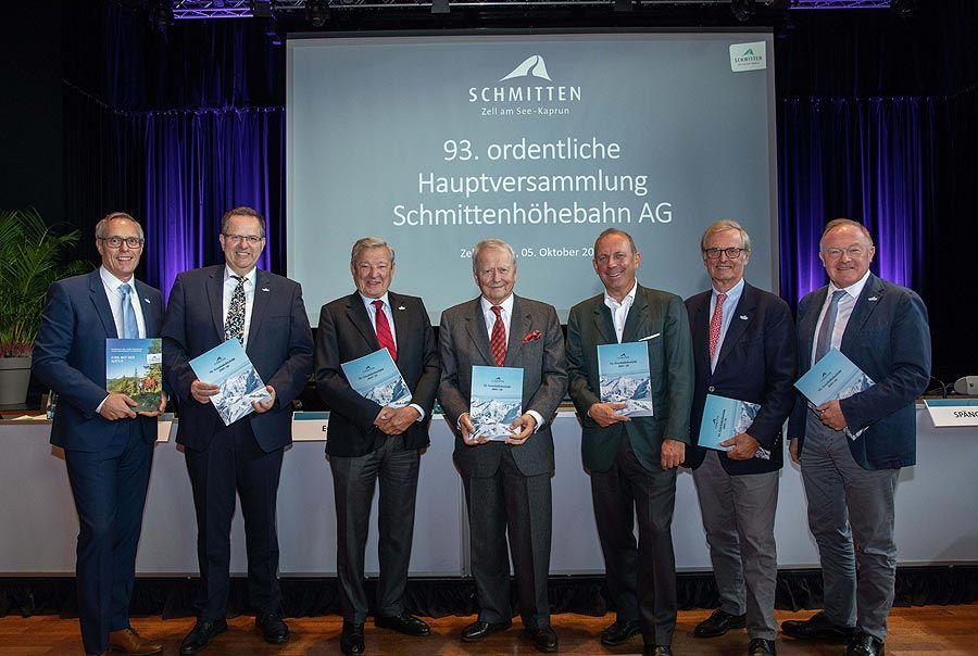 Schmittenhöhebahn AG präsentierte Ergebnis 2019/20 vor Ort und digital