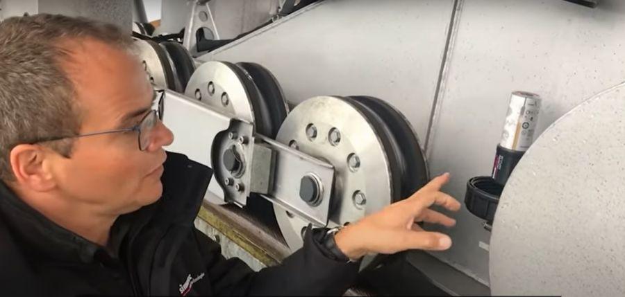 simatec: Luftseilbahn – Pendelachse automatisch schmieren